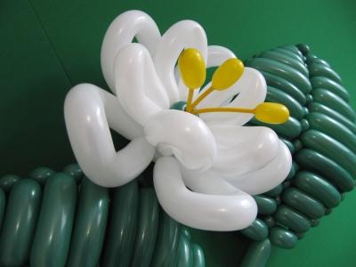 Лилия из шаров