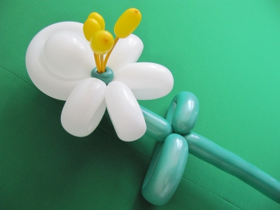 Цветок из надувных шариков ШДМ