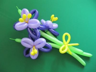 Букет цветов из ШДМ