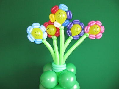 Букет цветов из шаров ШДМ
