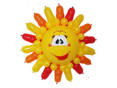 Солнце из шаров